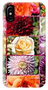 Summer Roses And Dahlias 2013 IPhone Case