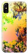 Looking Right Up Into The High Summer Sky IPhone Case