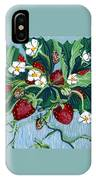 Summer Strawberries IPhone Case