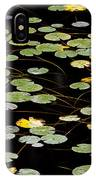 Summer's End Lily Pads IPhone Case