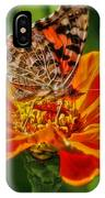 Summers Last Butterfly IPhone Case