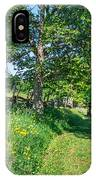 Summertime At The Farm IPhone Case