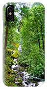 Summertime In The Cascades IPhone Case