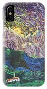 Sun And Moon Night IPhone Case
