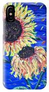 Sun Flowers And Wind IPhone X Case