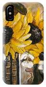 Sun Flowers IPhone X Case