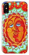 Sun God IPhone Case