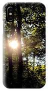 Sun Kissed Trees IPhone Case