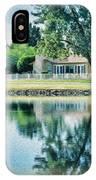 Sun Lakes Oil IPhone Case