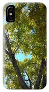 Sun Leaves IPhone Case
