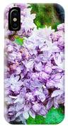 Sun Lit Lilac The Sweet Sign Of Spring IPhone Case