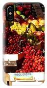 Sun On Fruit Close Up IPhone Case