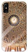 Sun Rays Through The Dome IPhone Case