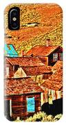 Sun Setting On Bodie IPhone Case