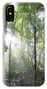 Sun Shining In Tropical Rainforest IPhone Case
