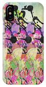 Sun Showers On Flowers IPhone Case