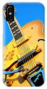 Sun Studio Guitar IPhone Case