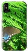 Sunbathing Butterfly IPhone X Case