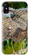 Sunbittern Displaying IPhone Case
