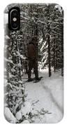 Sundling Creek Snowshoe IPhone Case