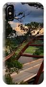 Sundown On Pennybacker 360 IPhone Case