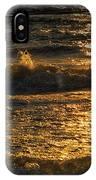 Sundown On The Waves IPhone Case