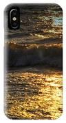 Sundown Shimmer On The Waves IPhone Case