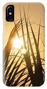 Sundown Through The Grass IPhone Case