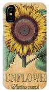 Sunflower 1 IPhone Case