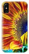 Sunflower Abstract IPhone X Case