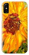 Sunflower IPhone X Case