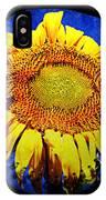 Sunflower Baseball Square IPhone Case