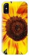 Sunflower Beauty IPhone Case