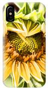 Sunflower Beauty - Painterly IPhone Case