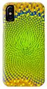 Sunflower Center IPhone Case
