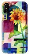 Sunflower Collage 2 IPhone Case
