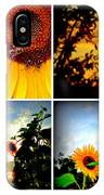 Sunflower Collage II IPhone Case