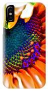 Sunflower Crazed IPhone Case