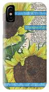 Sunflower Dictionary 2 IPhone Case
