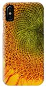Sunflower Digital Painting IPhone Case
