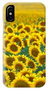 Sunflower Explosion IPhone Case