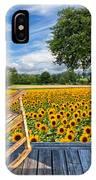 Sunflower Farm IPhone Case