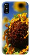 Sunflower Four IPhone Case