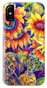 Sunflower Garden IPhone X Case