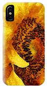 Sunflower Heart IPhone Case