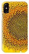 Sunflower In The Summer Sun IPhone Case