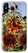 Sunflower Layers IPhone Case