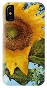 Sunflower Light IPhone Case