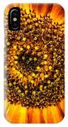 Sunflower Macro IPhone Case