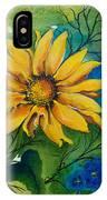 Sunflower Magic IPhone Case